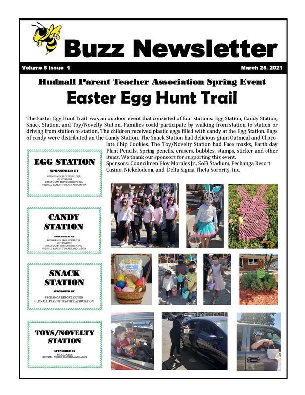 Easte Egg Hunt Trail