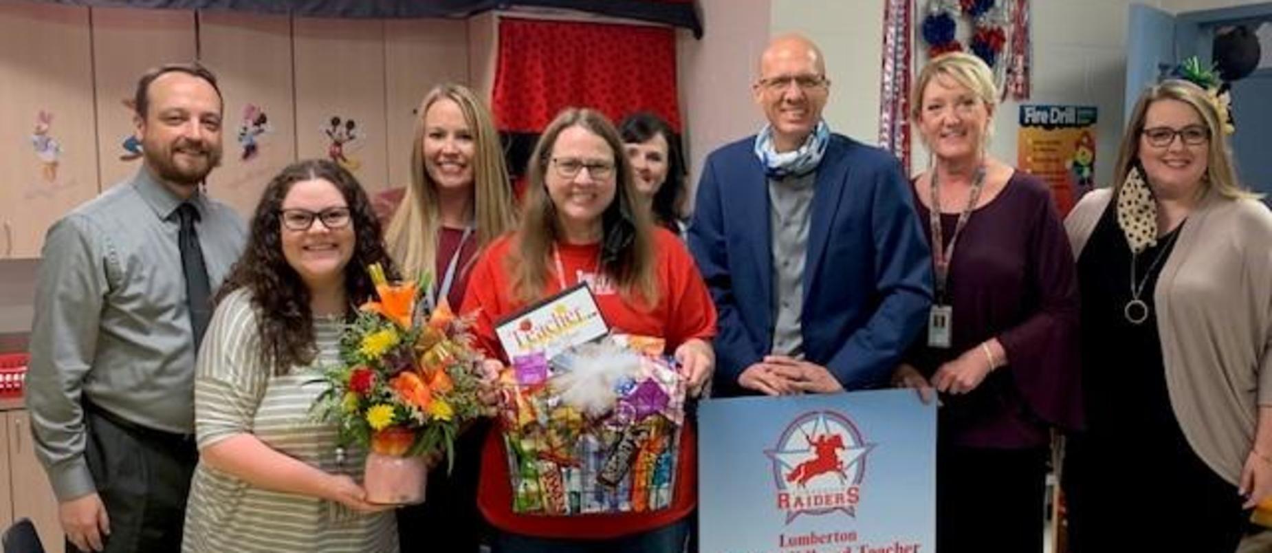 Congratulations Mrs. Page!