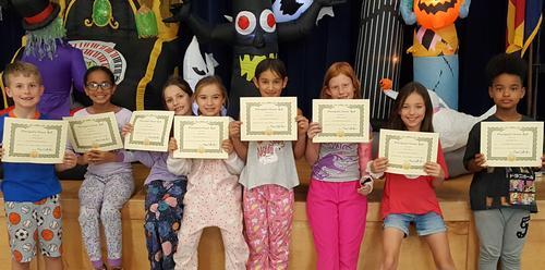 3rd grade Prinicpal Honor Roll Awards