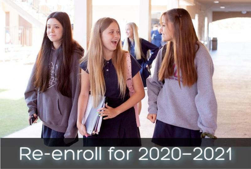 Re-enrollment for Returning Students Featured Photo