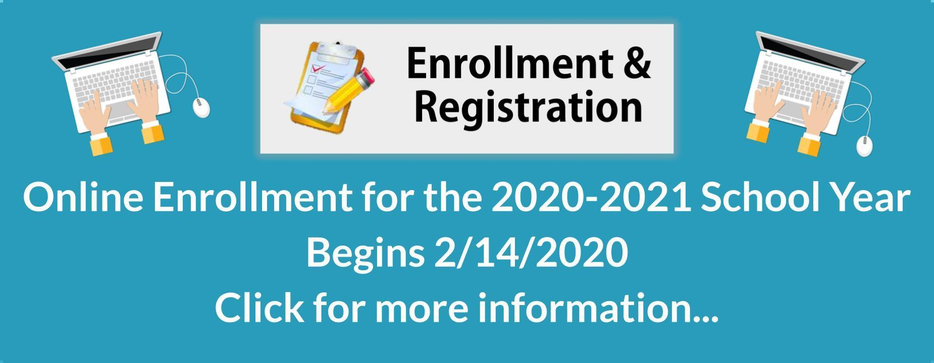 Enrollment Registration Information