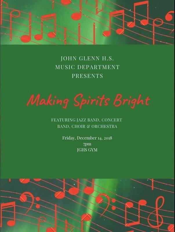 WInter Concert, Friday, December 14, 2018 Featured Photo
