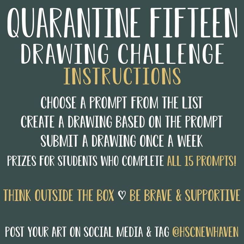 Quarantine 15 art challenge instructions