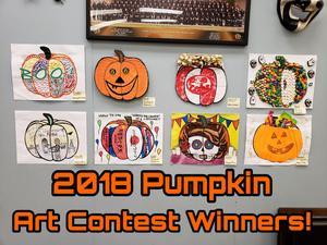 Halloween Pumpkin Art Contest
