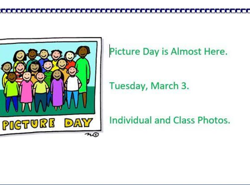 Picture Day in March 3