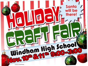 Holiday Craft Fair Poster