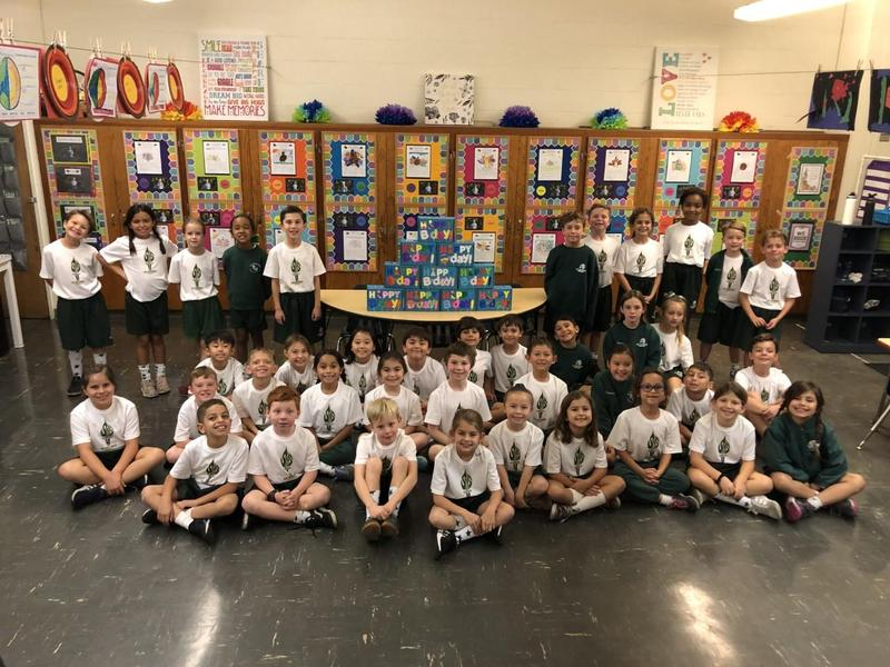 Second Grade Students Give Back Featured Photo