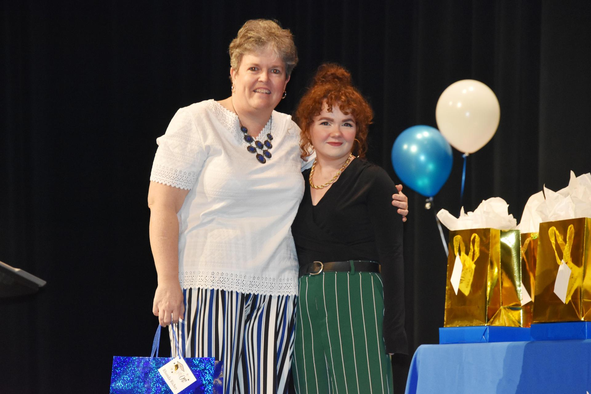 Kayle Richey and Rhonda Richey