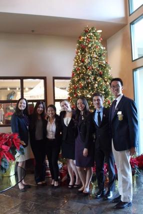 FBLA at Chamber of Commerce Network Luncheon