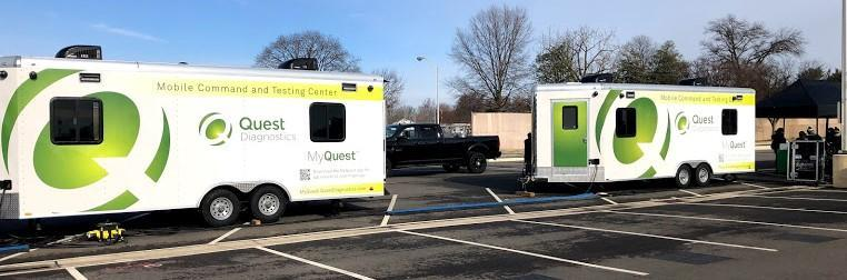 Mobile COVID Testing Van Coming to the Cathedral Beginning June 1 Featured Photo