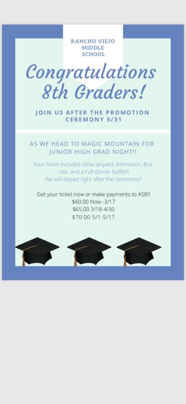 ceremony and grad night