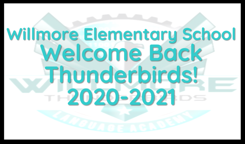 Willmore Welcome and Back to School Information