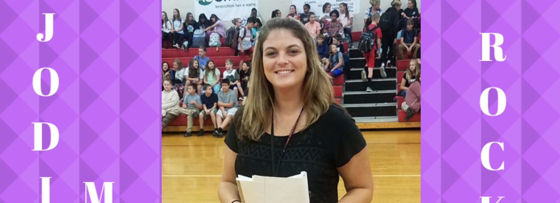Jodi Miller Rockstar teacher