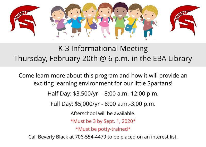 K-3 program