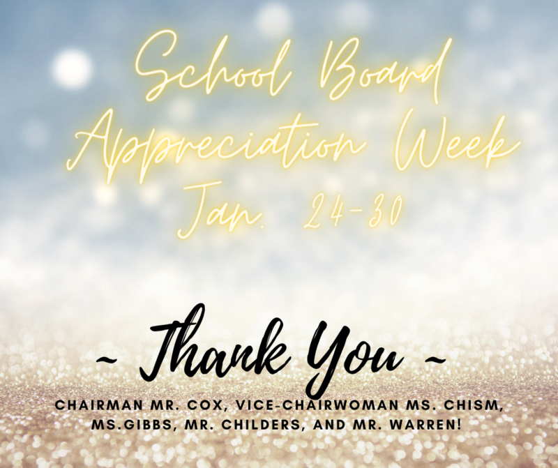 School Board Appreciation Week - January 24 - 30 Featured Photo