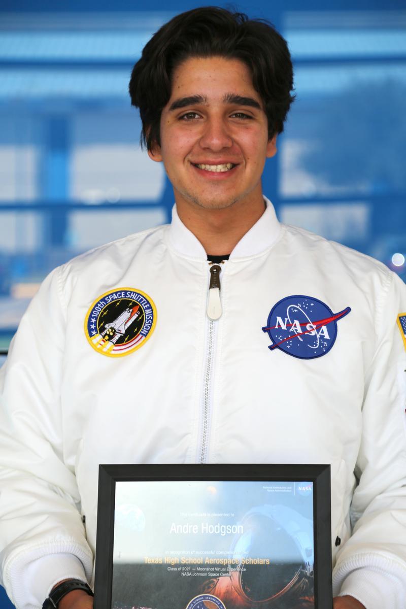 VMHS student- Andre Hodgson