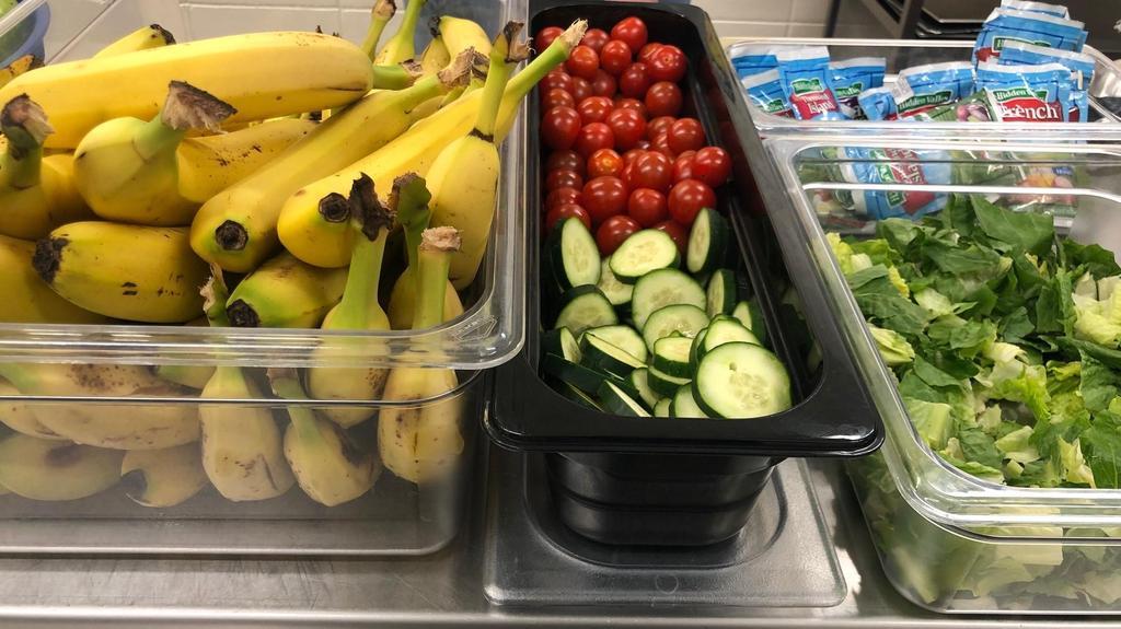 Fresh Fruit & Veggies Everyday!!!