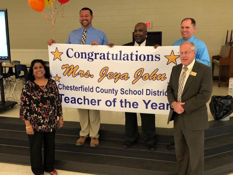 District announces new Teacher of the Year Featured Photo