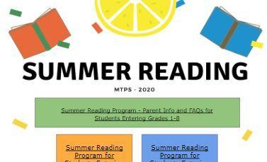Picture for Summer Reading Information