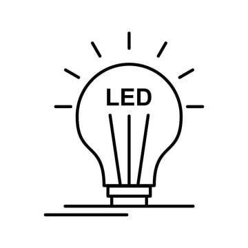 LED bulb art