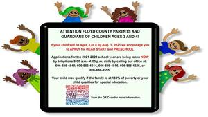 picture of news story and kids. scan qr code for more information.