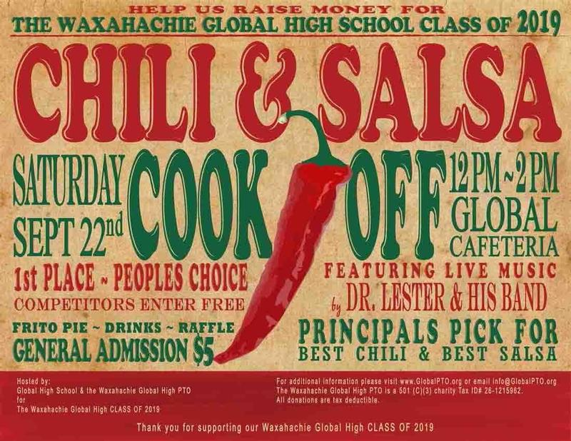chili & salsa cook off