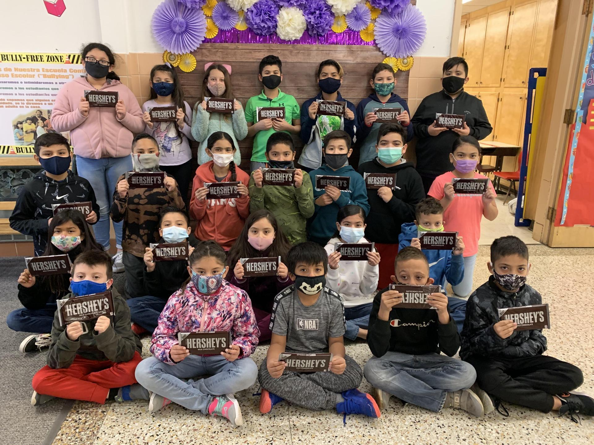 Chocolate Challenge 4th Grade Winners - Top 25 Students