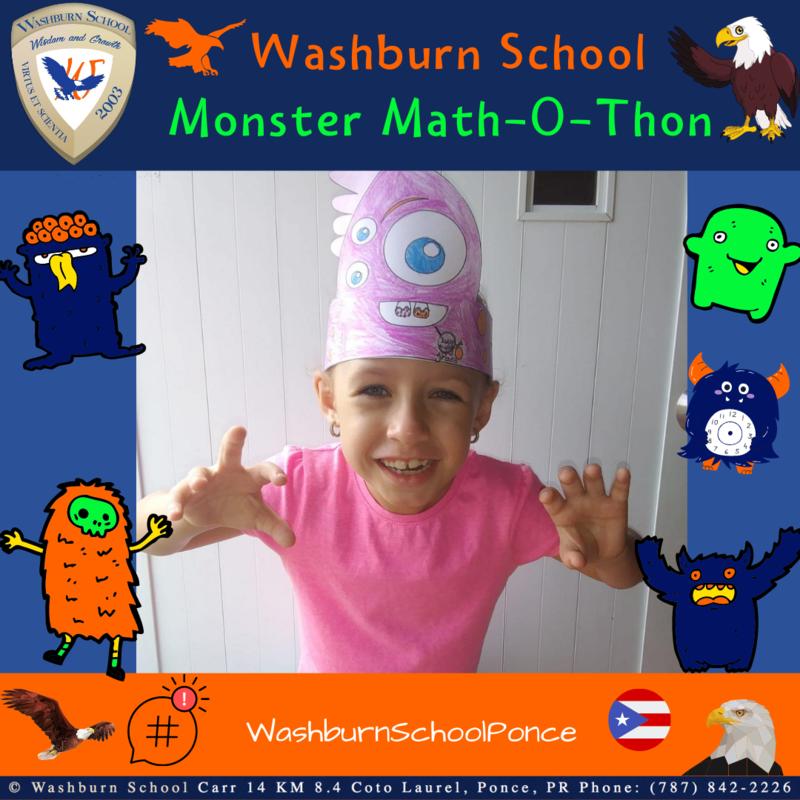 Washburn School 2020 Monster Math-O-Thon Featured Photo