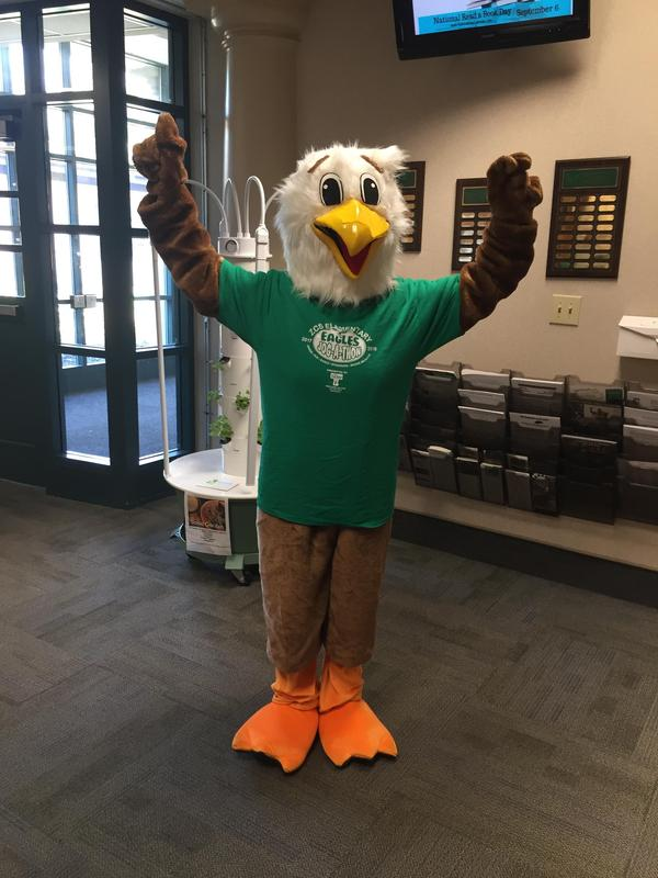 The Eagle visited our school today!