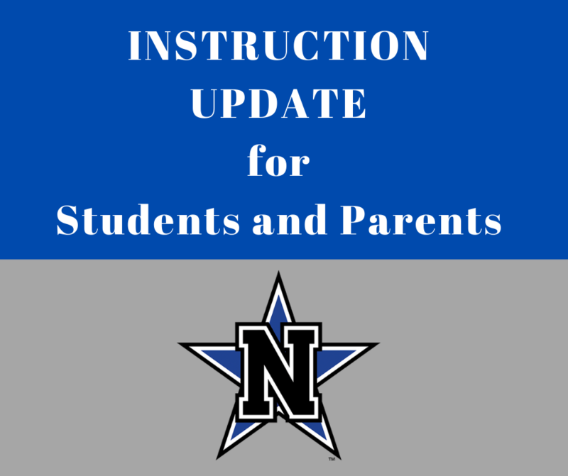 Instruction Update for Students and Parents Featured Photo