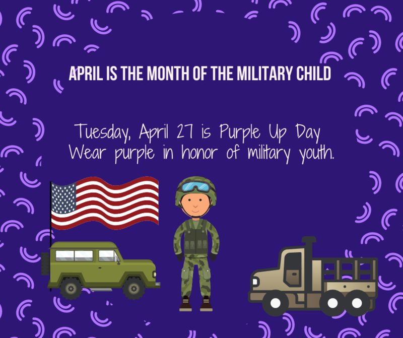 April is Military Child month Featured Photo
