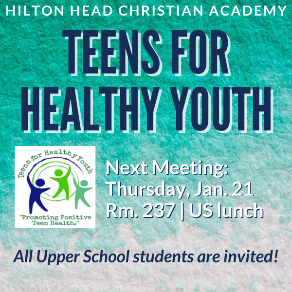 Teens for Healthy Youth Meeting