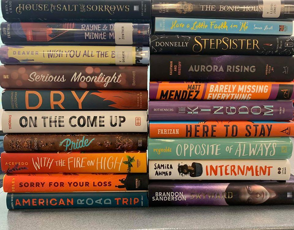 The purpose of the Georgia Peach Book Award for Teen Readers is to highlight and promote the best current young adult literature for Georgia high school age students, to encourage teens to read, and to promote the development of cooperative school and public library services for young adults.     The Nominees for the 2020-2021 Award are as follows:   American Road Trip by Patrick Flores-Scott  Aurora Rising by Amie Kaufman & Jay Kristoff  Barely Missing Everything by Matt Mendez  The Bone Houses by Emily Lloyd-Jones  Dry by Neal Shusterman & Jarrod Shusterman  Have a Little Faith in Me by Sonia Hartl  Here to Stay by Sara Farizan  House of Salt and Sorrows by Erin A. Craig  I Wish You All the Best by Mason Deaver  Internment by Samira Ahmed  The Kingdom by Jess Rothenberg  On the Come Up by Angie Thomas  Opposite of Always by Justin A. Reynolds  Pride by Ibi Zoboi  Rayne & Delilah's Midnite Matinee by Jeff Zentner  Serious Moonlight by Jenn Bennett  Skyward by Brandon Sanderson  Sorry For Your Loss by Jessie Ann Foley  Stepsister by Jennifer Donnelly  With the Fire on High by Elizabeth Acevedo