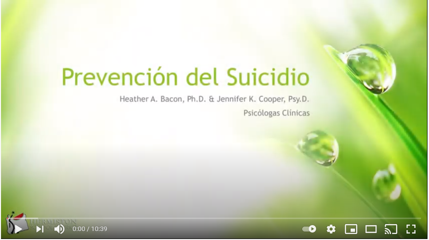 Hermiston School District Suicide Prevention Video