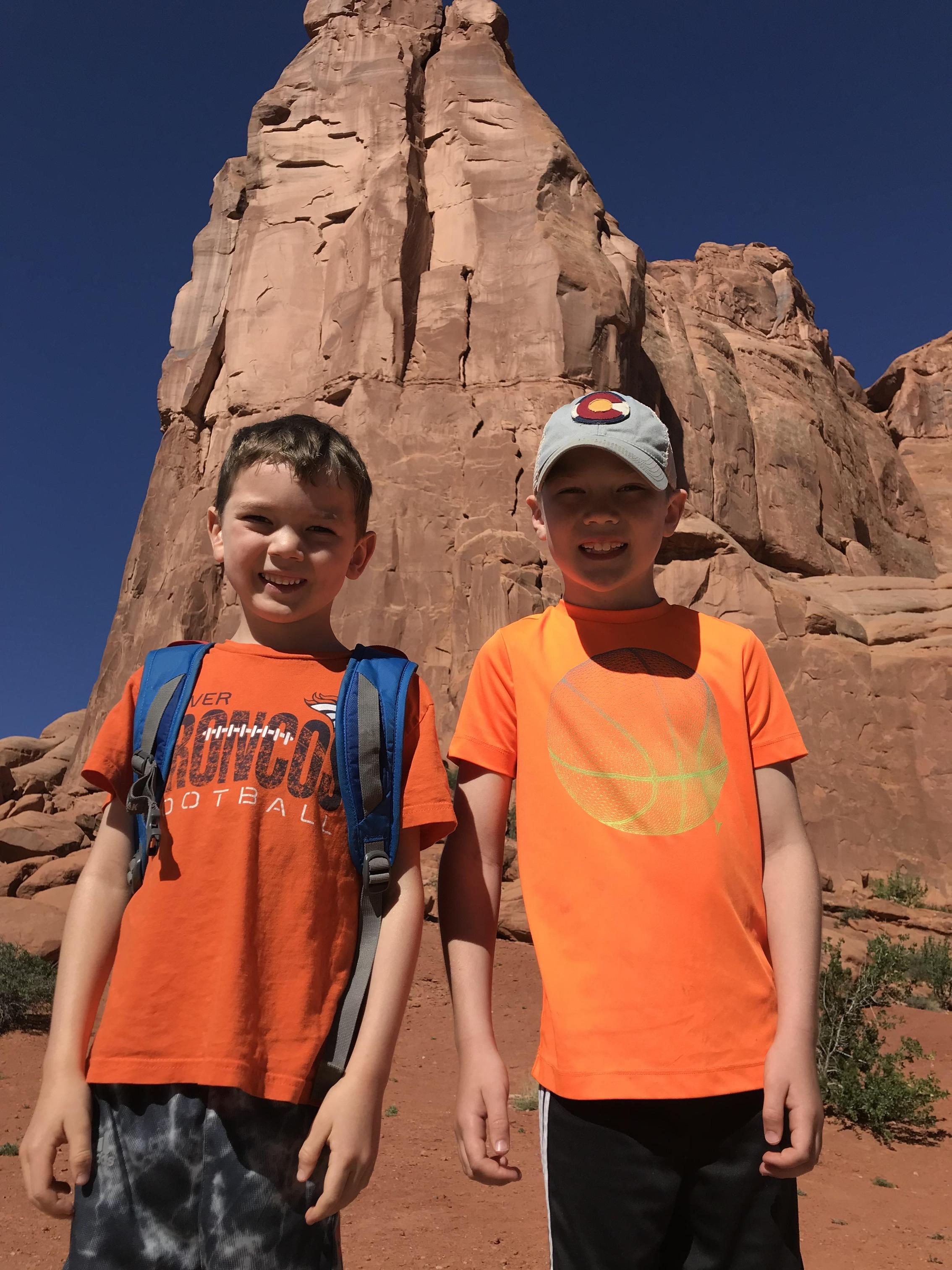 Arches NP was one of our favorites!