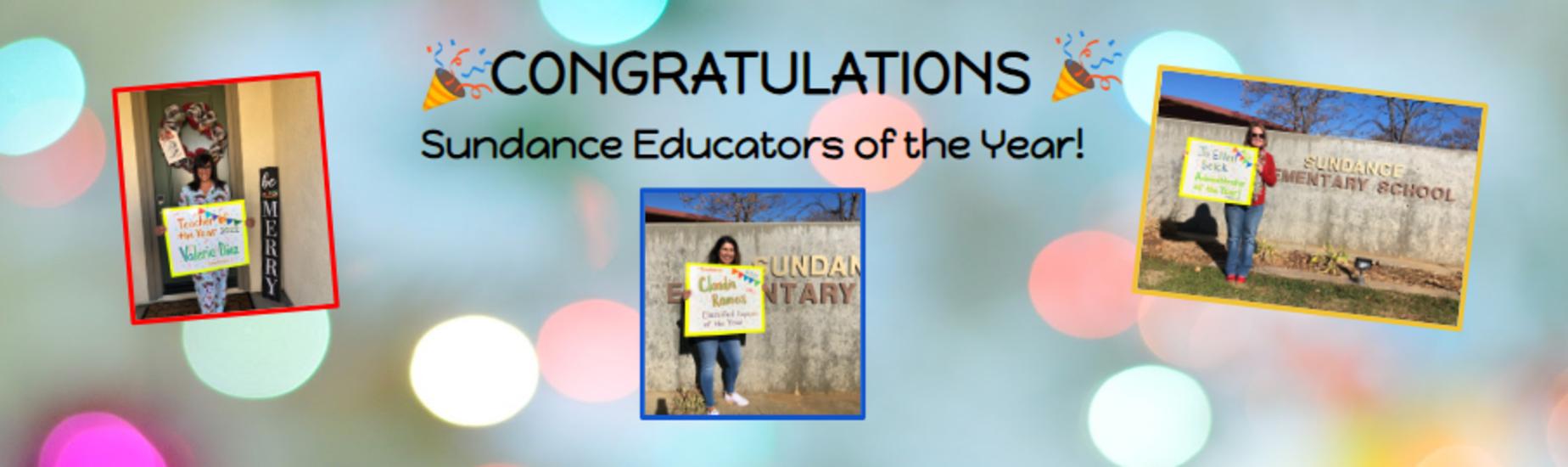 Sundance Educators of the Year!