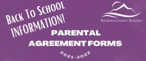 Parental Agreement Forms