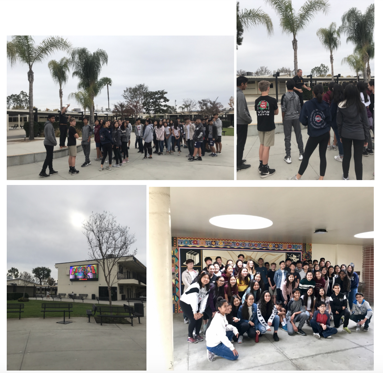 Sunny Hills High School Tour