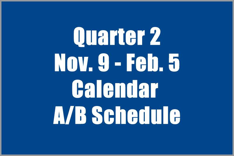 Image of Q2 Calendar