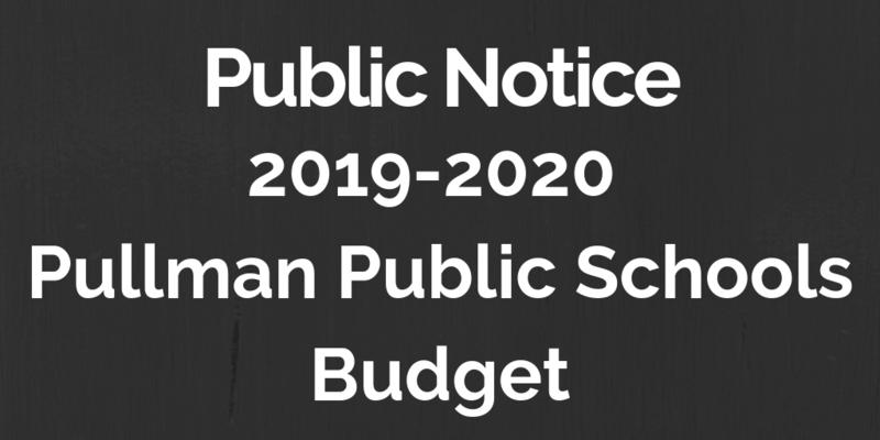 Public Notice: 2019-2020 Budget Thumbnail Image