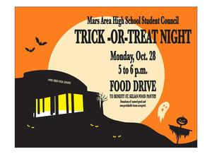Mars Area High School Trick-or-Treat Night