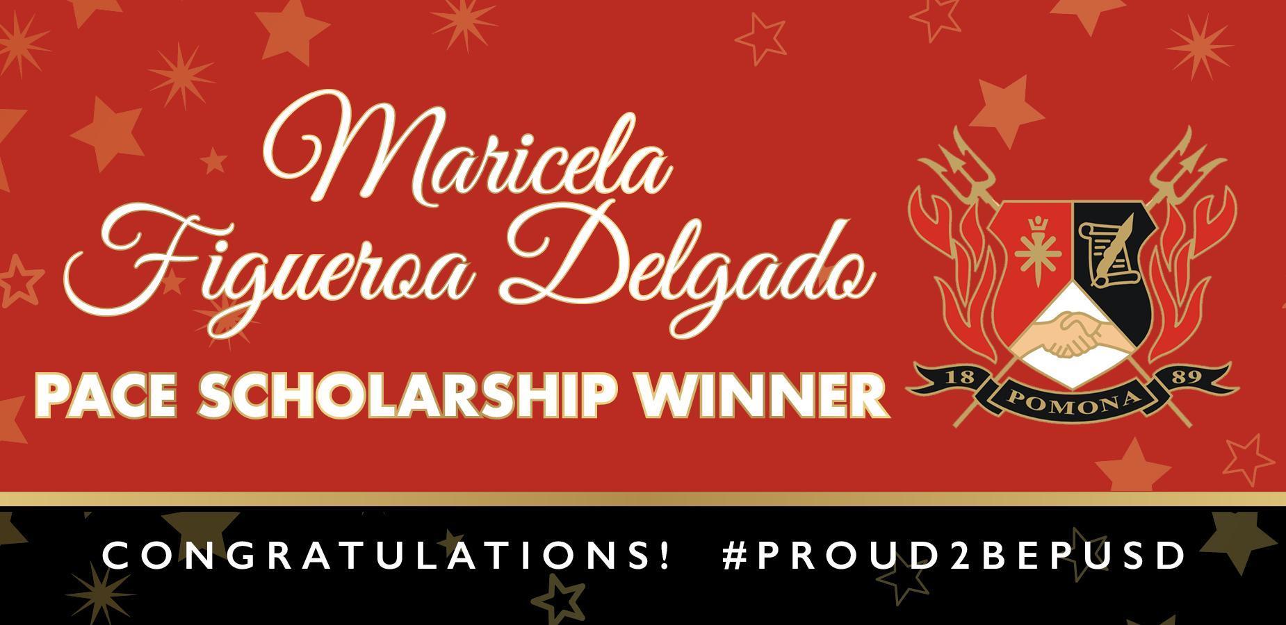 Congratulations Jasmine! Winner of the @PomonaUnified #APT #Scholarship! #proud2bePUSD #Classof2020