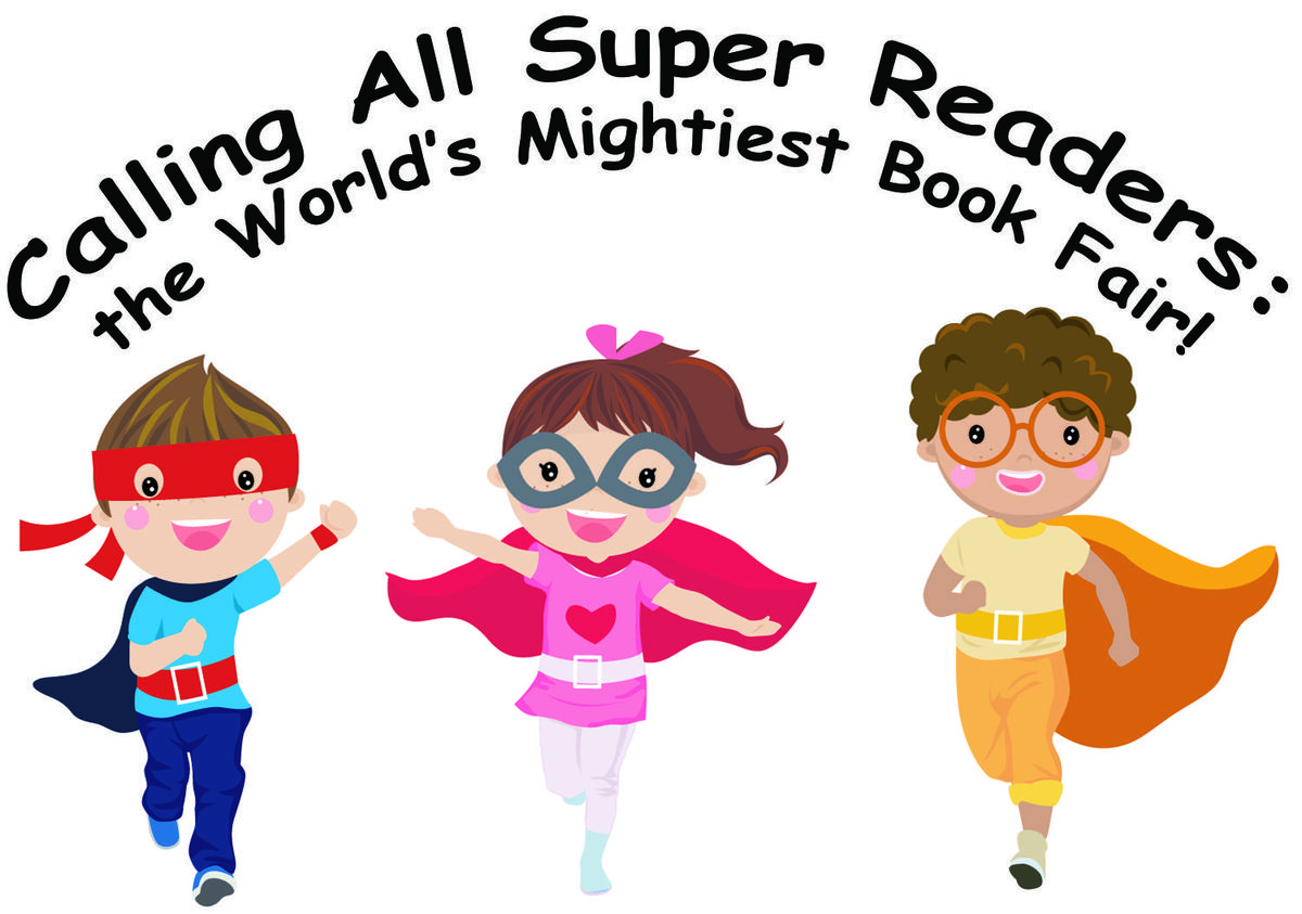 book fair 2020 Super hero theme