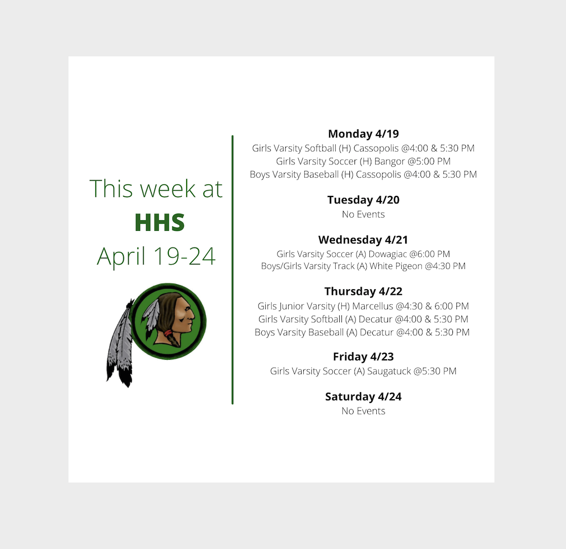 This week at HHS... Image