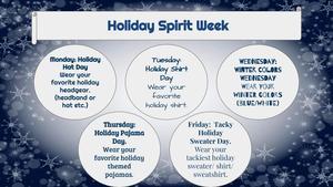 2020 Holiday Spirit Week