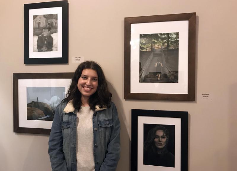 Julia Bertussi'18 Exhibits at Belskie Museum Thumbnail Image