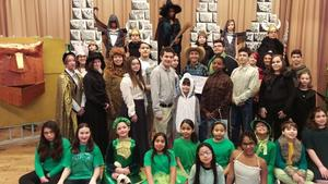 Full cast of Wizard of Oz