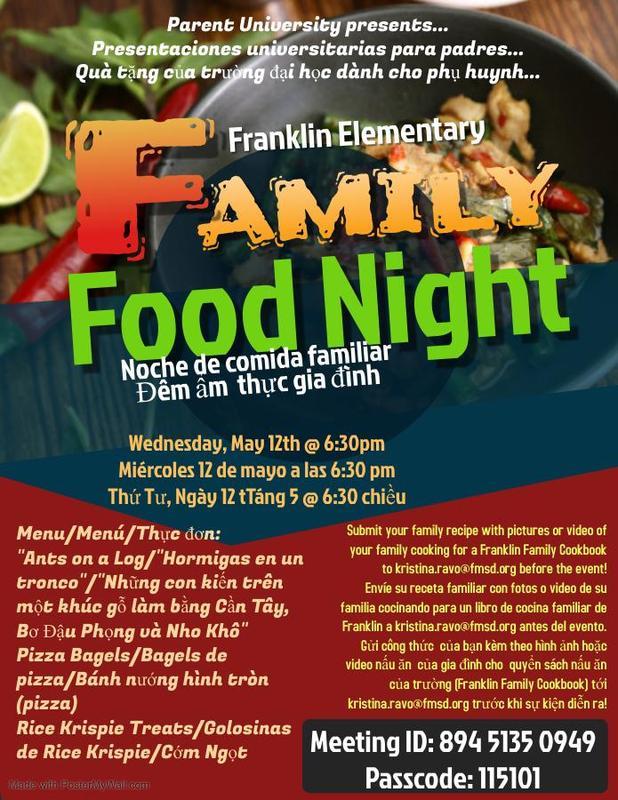 Family Food Night