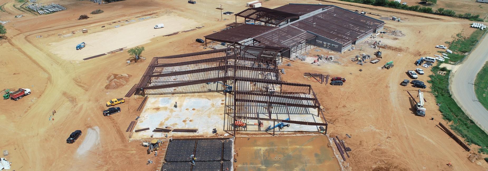 New Burks Construction Site