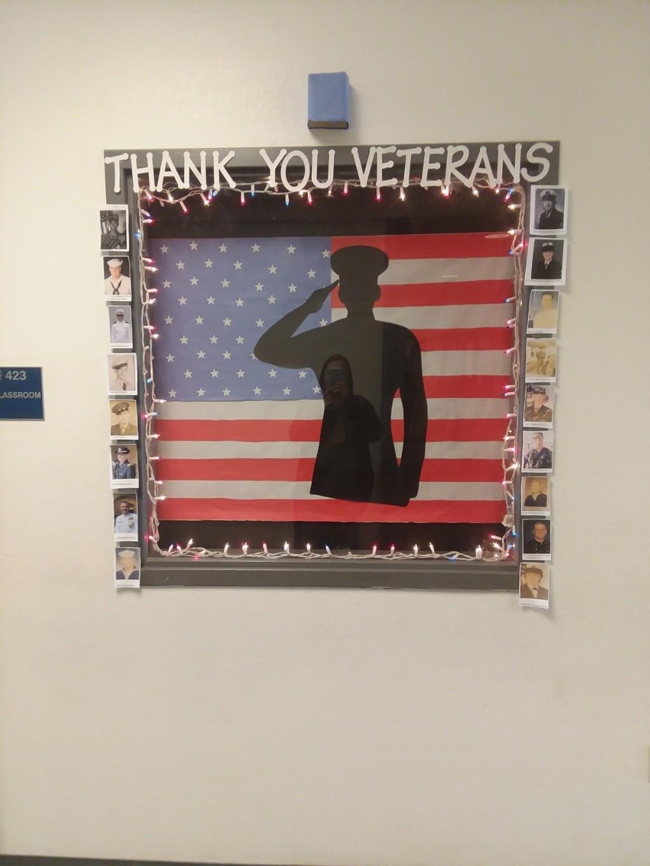 Veteran's Day Window